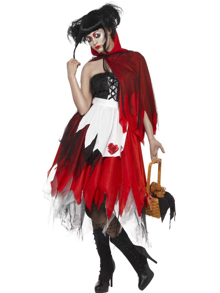 red blood hood kostüm rotkäppchen für damen  märchen