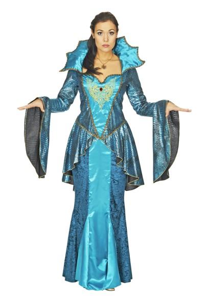 mittelalter königin vivana meeresprinzessin kostüm